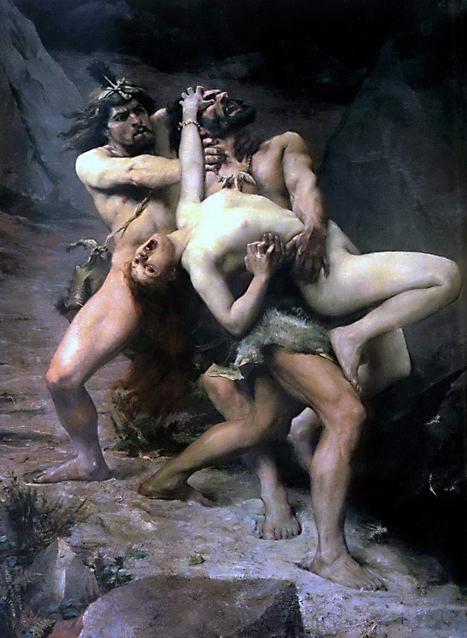 l'image de l'homme préhistorique Paul_Jamin
