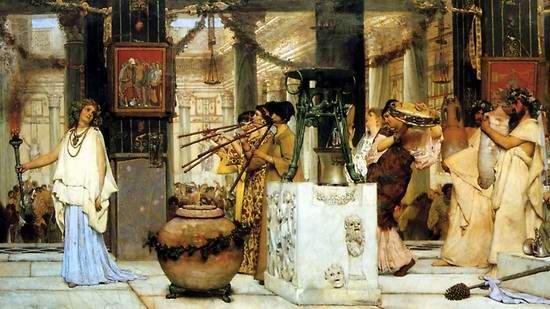 Matrimoni Romani Antichi : La peinture academique alma tadema